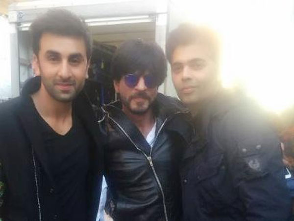 SRK-Ranbir Met The Babies In The Hospital