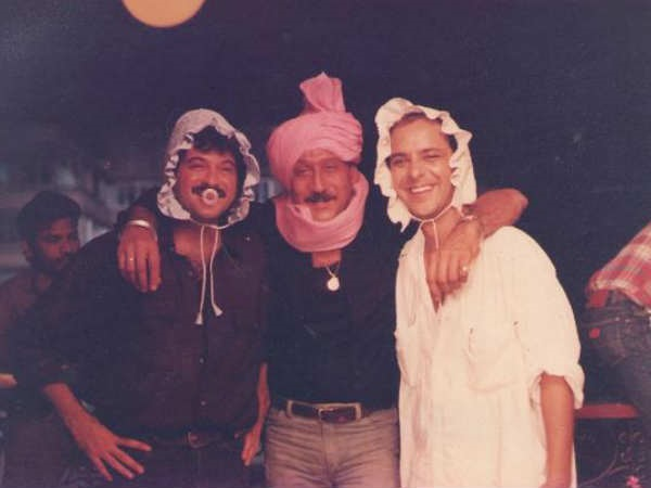 Anil Kapoor And Jackie Shroff Go Bonkers