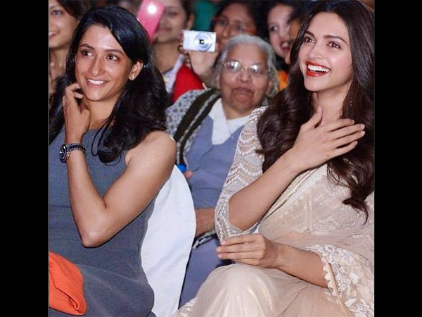 Deepika & Anisha Belong To Different Fields