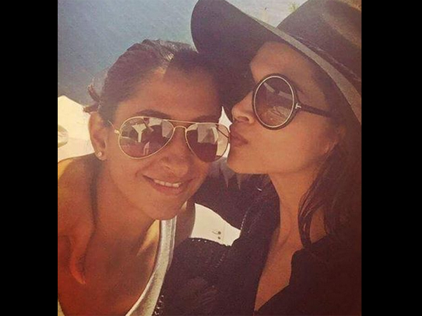 Here Are A Few More Pics Of Deepika & Anisha