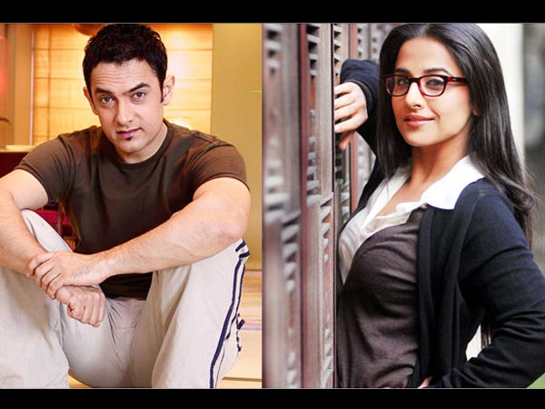 Image result for When Aamir Khan hurt Vidya Balan's ego