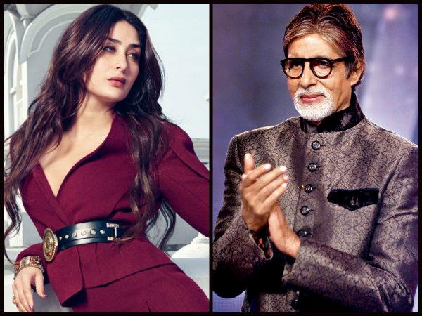 Image result for Amitabh Bachchan - Kareena Kapoor