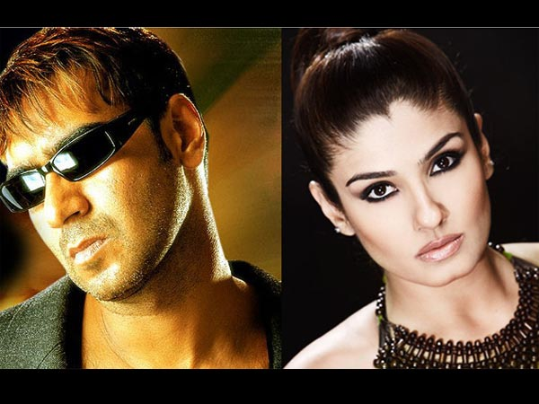 When Raveena Accused Ajay For Destroying Her Career
