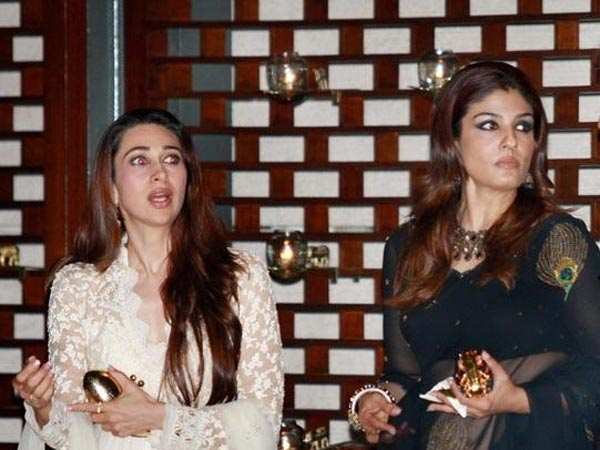 When Karisma Refused To Pose With Raveena