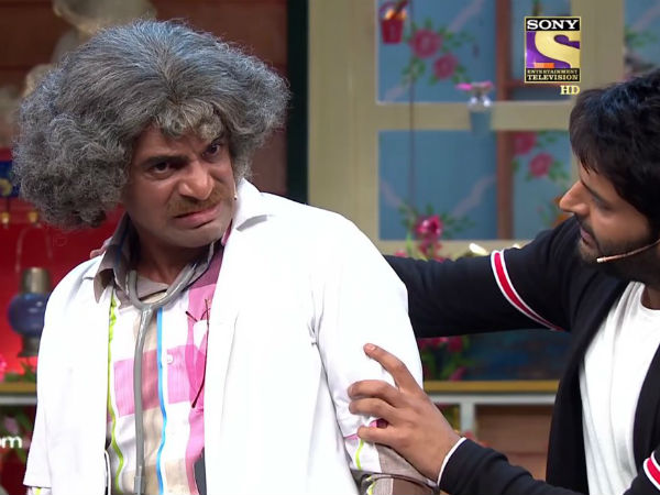 Sunil To Get A New Show?