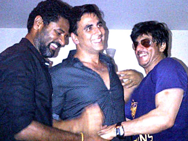 Akshay On SRK