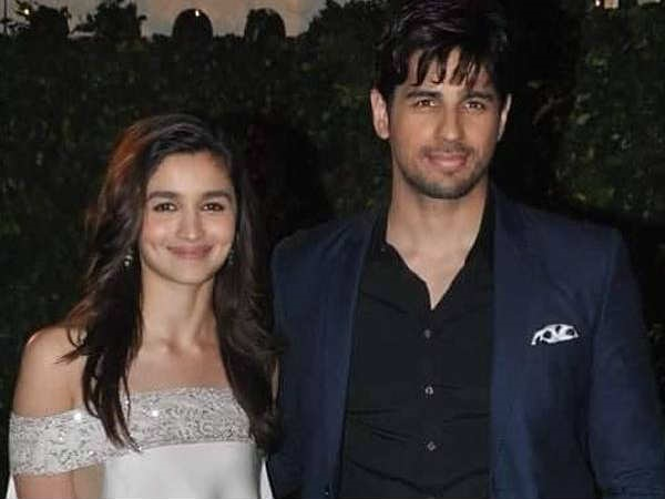 Alia's Visit To Her Beau Sidharth Malhotra's House