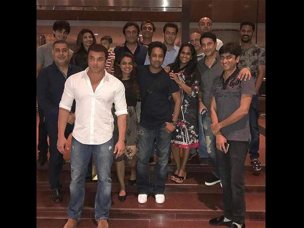 Salman With His Family