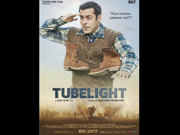 Salman's Adorable Look On The Tubelight Poster