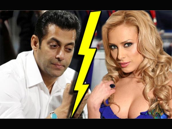 SHOCKING! Salman Khan Gets Into An Ugly Fight With Iulia Vantur; He Is Getting Tired Of Her Demands!