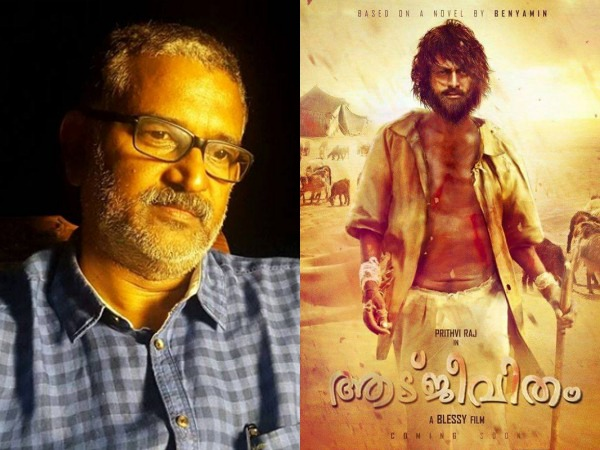 Aadujeevitham Is Not Shelved: Blessy Confirms