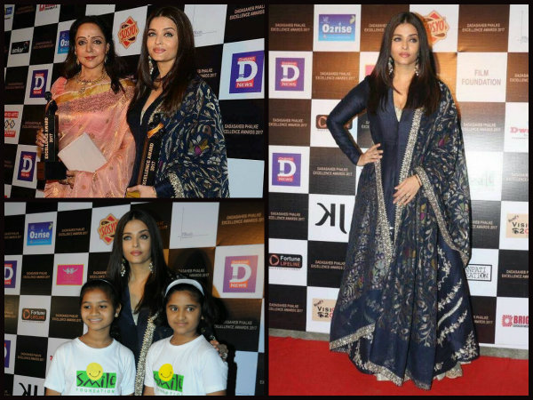 B'FUL PICTURES! Aishwarya Rai Bachchan Beams With Pride As She Receives Her Dadasaheb Phalke Award!