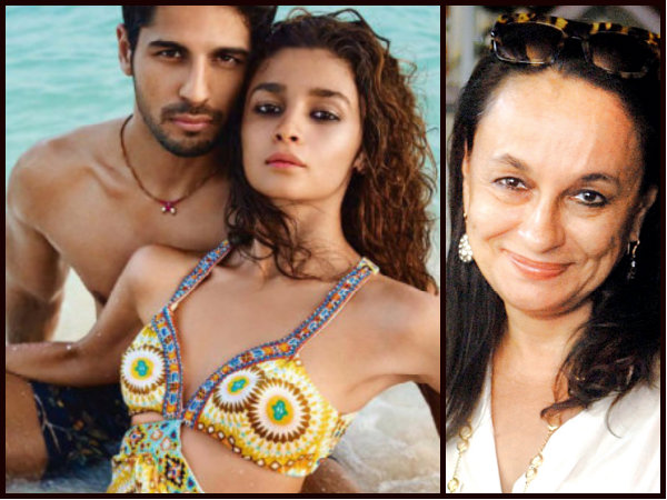 Alia Bhatt Is NOT WASTING Time With Sidharth Malhotra: Mom Soni Razdan Speaks On Their Affair!