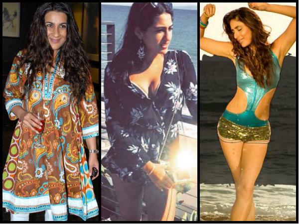 OMG! Amrita Singh DOESN'T Want Sara Ali Khan To Be Like Kareena Or Soha; BANS Her Bikini Scene!