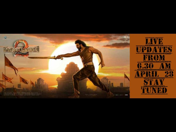 Baahubali 2: The Conclusion (Malayalam) LIVE Review From The Theatre!