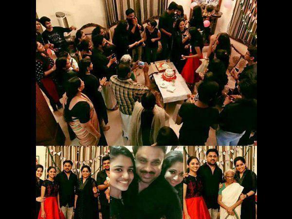 IN PICS: Dileep & Kavya Madhavan Celebrate Meenakshi's Birthday