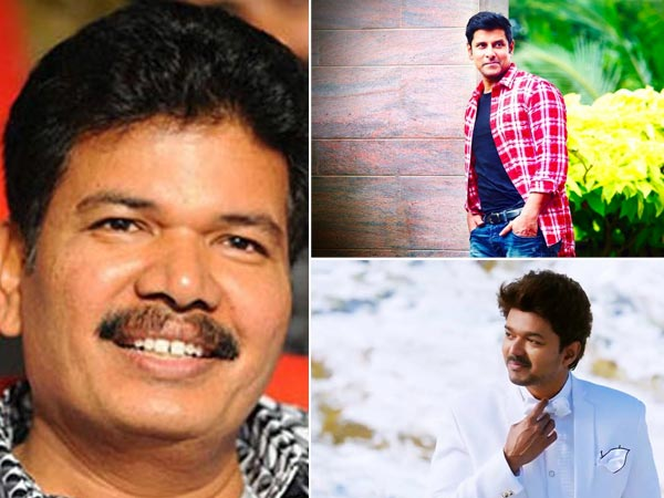 Director Shankar To Bring Vikram & Vijay Together
