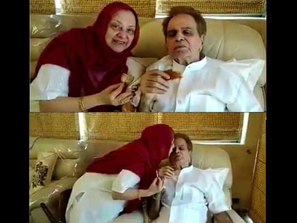This Video Of Dilip Kumar Sharing A Cup Of Chai With Saira Banu Will Leave You MOIST-EYED!