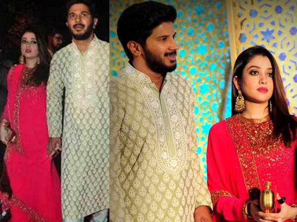 SPOTTED WITH A BABY BUMP! Dulquer Salmaan & Amaal Sufiya To Welcome Their First Child