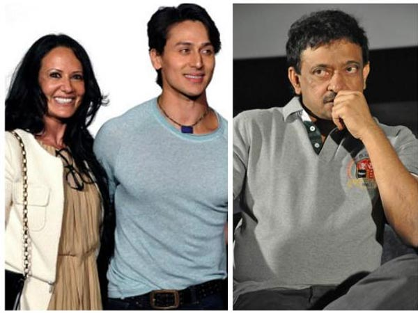 She Hits Back! Tiger Shroff's Mother Ayesha Reacts To RGV's Cheap Comments; Compares Him To A Dog!