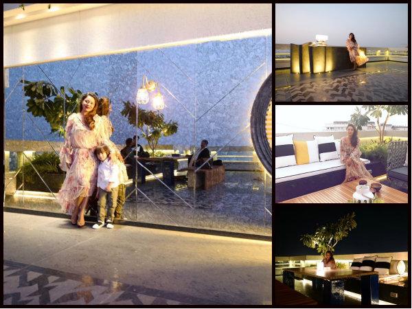 MUST SEE! Gauri Khan Designs Karan Johar's Terrace; Strikes A Pose With AbRam [Pictures]