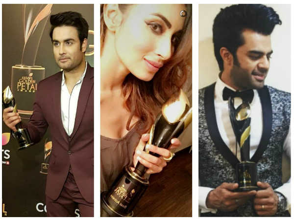 Colors Golden Petal Awards 2017: Vivian-Rubina, Mouni Roy, Manish Paul & Others Bag Awards (PICS)