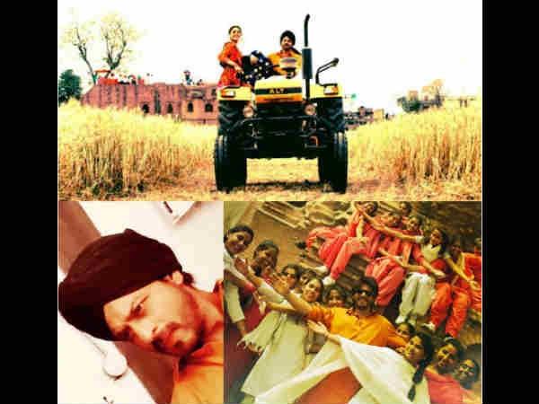 LEHRAATE KHET TO LASSI TE LOVE! Shahrukh Khan Sums Up His Punjab Shoot For Imtiaz's Next [PICS]