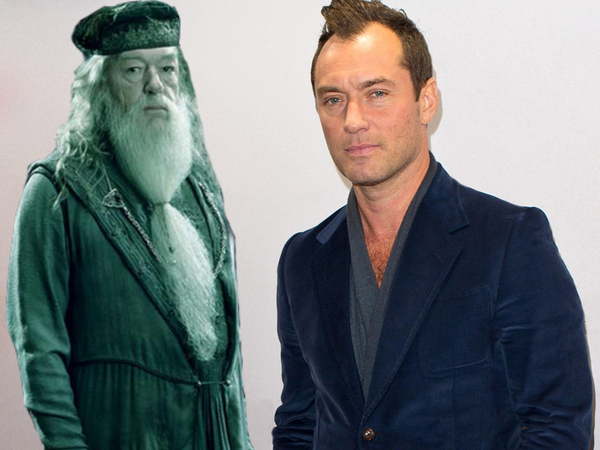 Jude Law To Play Young Dumbledore In Fantastic Beasts And Where To Find Them Sequel