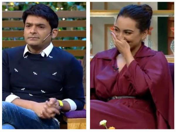 TKSS: Kapil Makes Sonakshi Sinha Wait For 2 Hours; Sonakshi Trolls A Body-shamer On The Show!