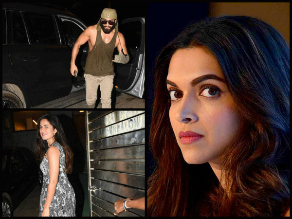 UNEXPECTED! Katrina Kaif Parties With Ranveer Singh; Catfight With Deepika Padukone To Get Worse?
