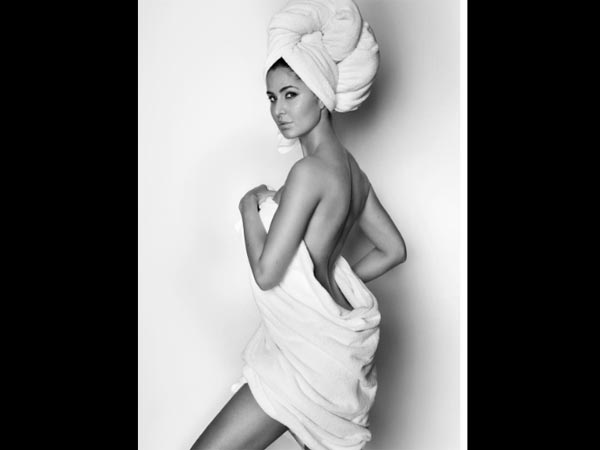 HOTTEST EVER!  Katrina Kaif Poses In A Towel For Mario Testino & Sets Tongues Wagging [Picture]