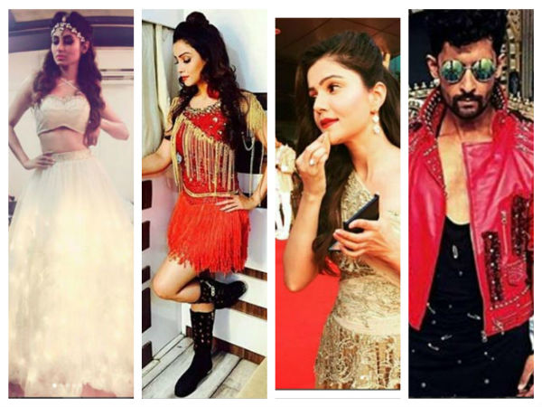Colors Golden Petal Awards 2017: Mouni, Rubina, Adaa, Diljit, Rashmi & Others Set The Stage On Fire!