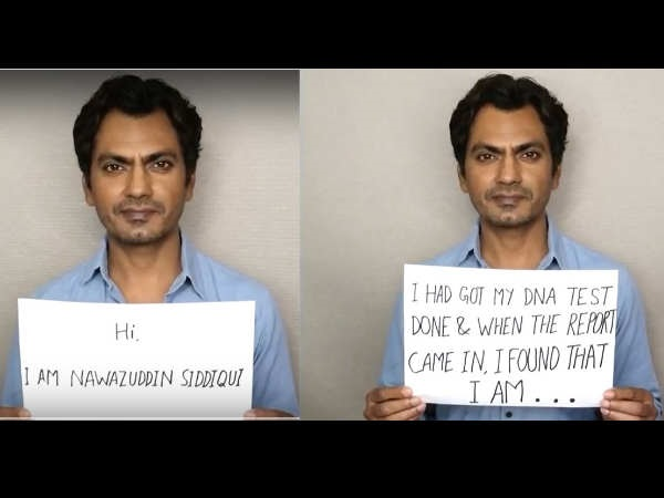 VIRAL VIDEO ! Nawazuddin Siddiqui Gets His DNA TESTED; Find Out Why!