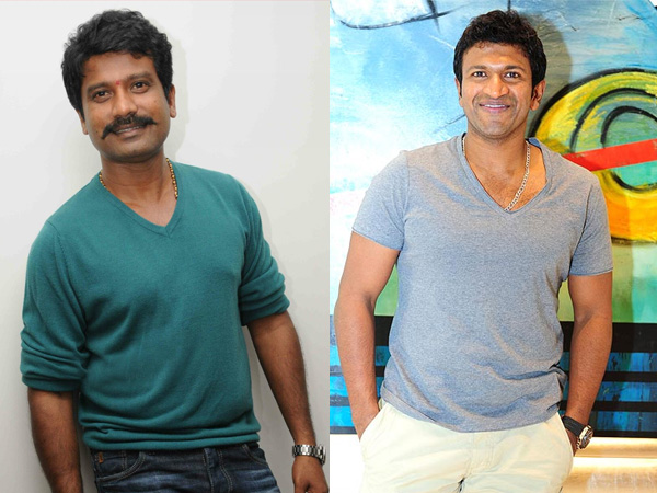 Prem Starts Shooting For The Villain With Puneeth As Special Guest On Sets!