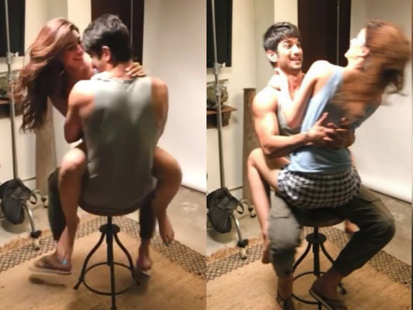 Video: Intimate Clip Of Sushant Singh Rajput & Kriti Sanon! What Are They Doing?