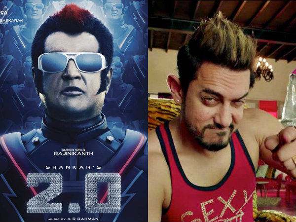 Superstar Rajinikanth Robo 2.0 Aamir Khan Secret Superstar