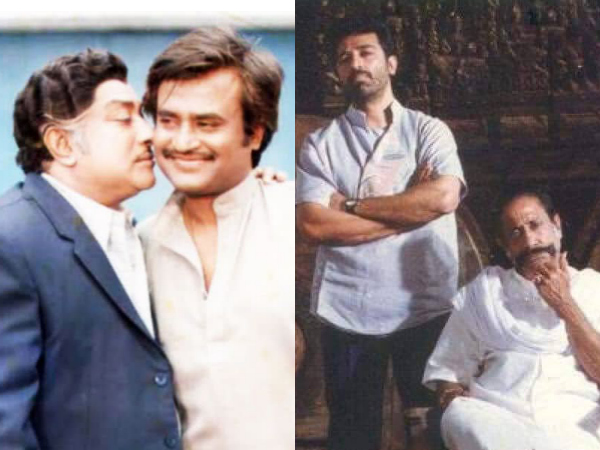 Throwback! Rajinikanth & Kamal Haasan's Interesting Incidents With Sivaji Ganesan