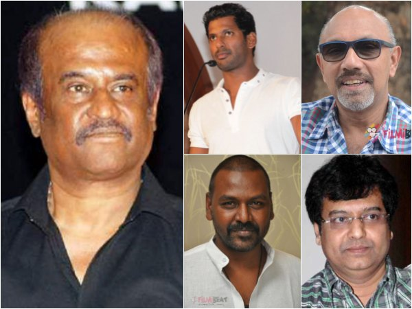 What Did Rajinikanth, Satyaraj, Raghava Lawrence, Vivek & Vishal Say To The Media?