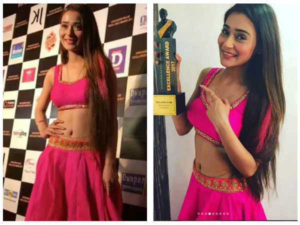 Jana Na Dil Se Door Actress Sara Khan Wins Dadasaheb Phalke Award