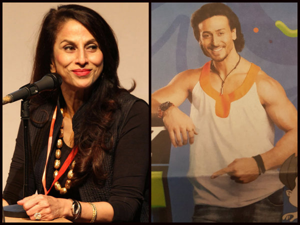 Hogging For Limelight! Shobhaa De Mocks Tiger Shroff For Wearing A Girly Top!