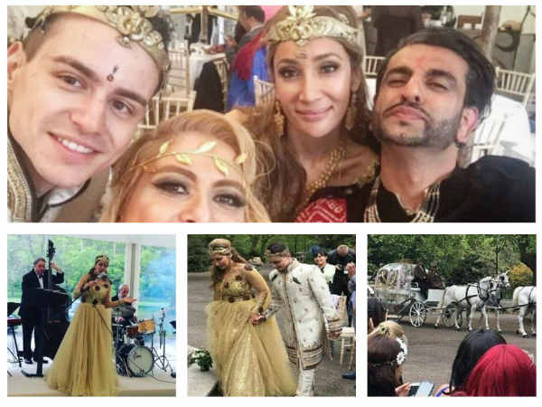 FAIRYTALE Wedding! Sofia Hayat Gets Married To Vlad Stanescu In A Grand Wedding Ceremony (PICS)