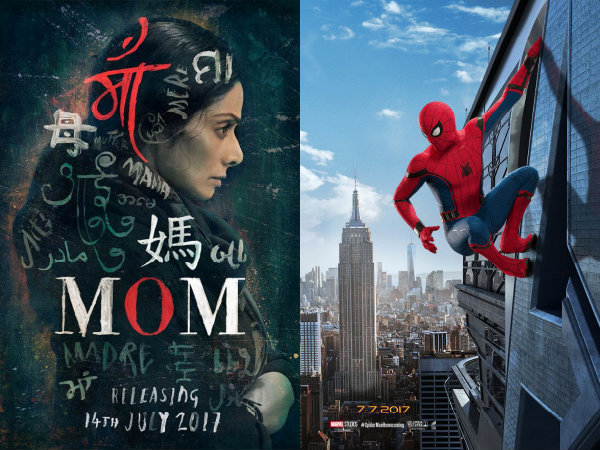 Sridevi's Upcoming Film 'Mom' To Clash With Hollywood's Spider-Man: Homecoming