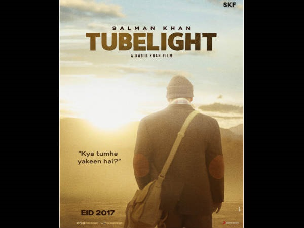 Tubelight TEASER POSTER: Salman Khan Embarks On A Journey, Asks 'Kya Tumhe Yakeen Hai'