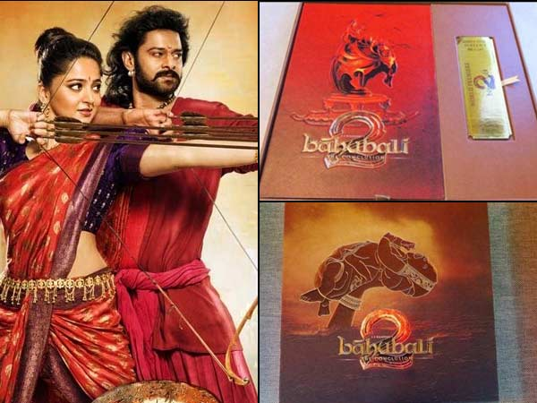 IT'S GRAND! Don't Miss The Pictures Of Baahubali 2: The Conclusion Premiere Invitation Cards!