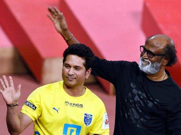 Superstar Rajinikanth Wishes Success For Sachin Tendulkar's Biopic!