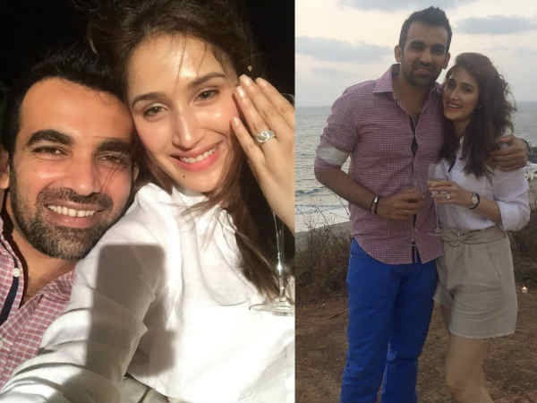GOOD NEWS! Zaheer Khan Gets Engaged To Long-Time Girlfriend Sagarika Ghatge