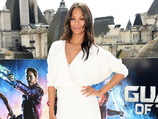 Zoe Saldana Claims Starring in Sci-Fi Films Made Her Color Blind
