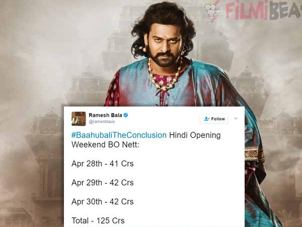 Baahubali 2 3 Days Box Office Collection, Baahubali 2 First