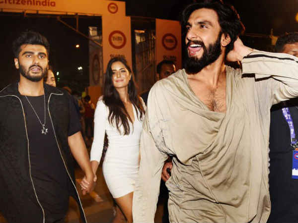 Katrina's Budding Friendship With Ranveer Out In The Open