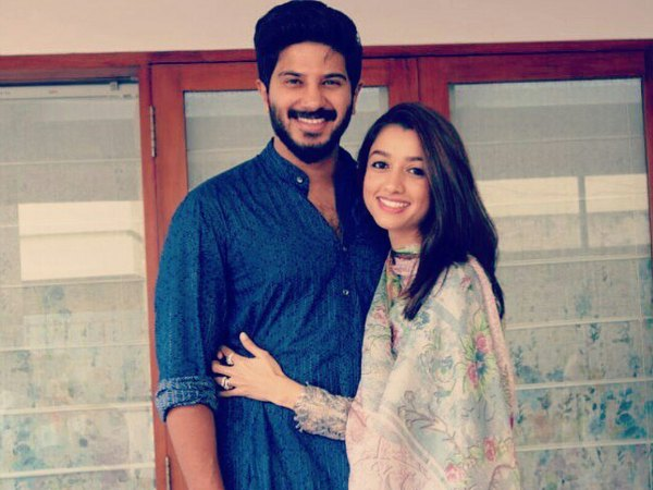 Dulquer Salmaan & Amaal Sufiya Blessed With A Baby Girl